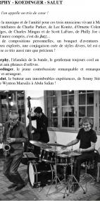 Trio MURPHY